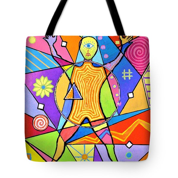 Feel The Vibes Tote Bag