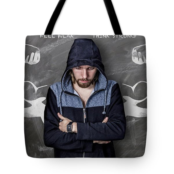 Feel Weak Think Strong Tote Bag