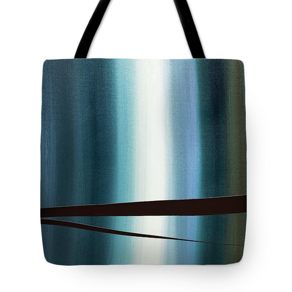 Tote Bag featuring the painting Feeling Engaged by Carmen Guedez