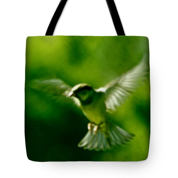 Feeling Free As A Bird Wall Art Print Tote Bag