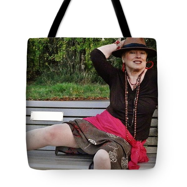 Feeling Jazzy In The Arts Park Tote Bag