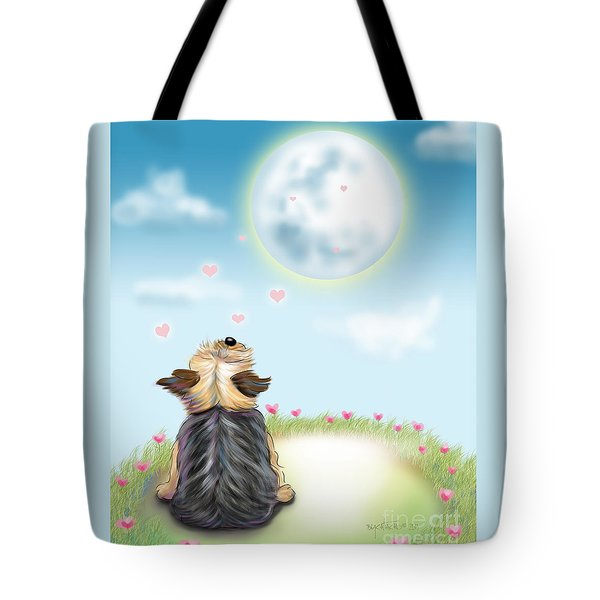 Feeling Love Tote Bag by Catia Cho