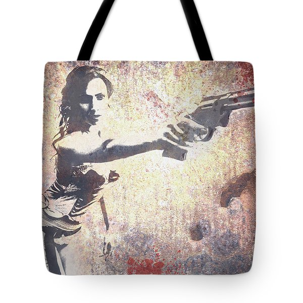Feeling Lucky? Tote Bag by David Bazabal Studios