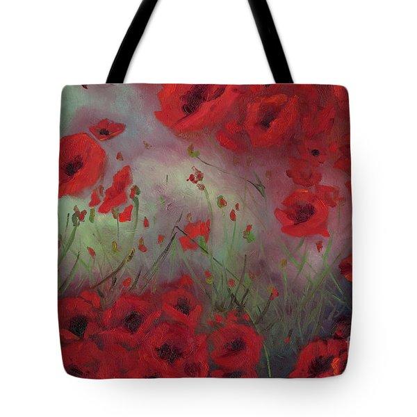 Feeling Poppy Tote Bag