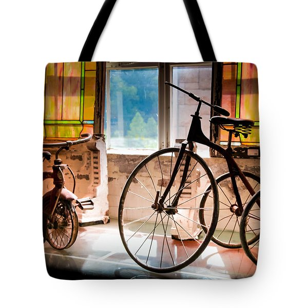 Feeling The Sounds Of Yesterday Tote Bag