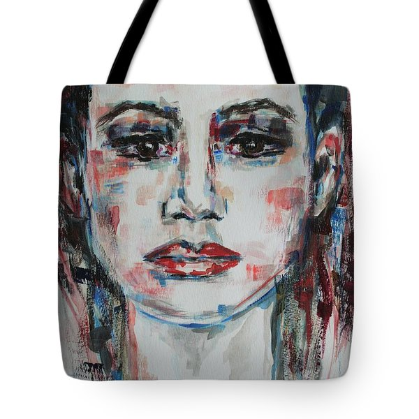 Feels Like The World Upon My Shoulders Tote Bag