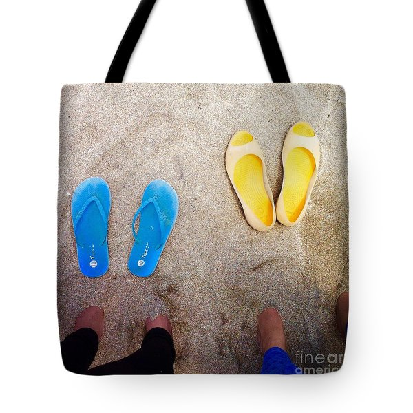 Feet Around The World #23 Tote Bag