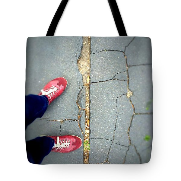 Feet Around The World #25 Tote Bag