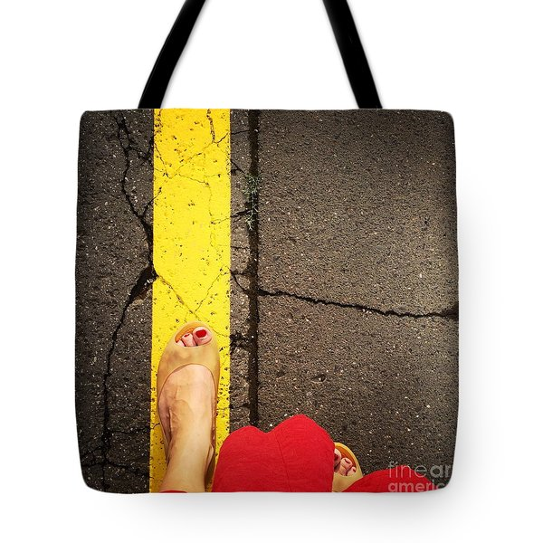 Feet Around The World #27 Tote Bag