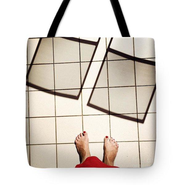 Feet Around The World #28 Tote Bag
