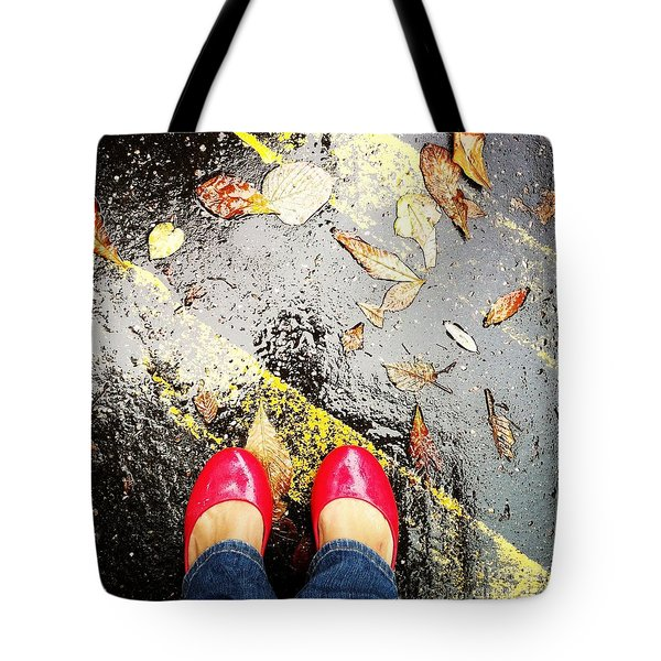 Feet Around The World #29 Tote Bag