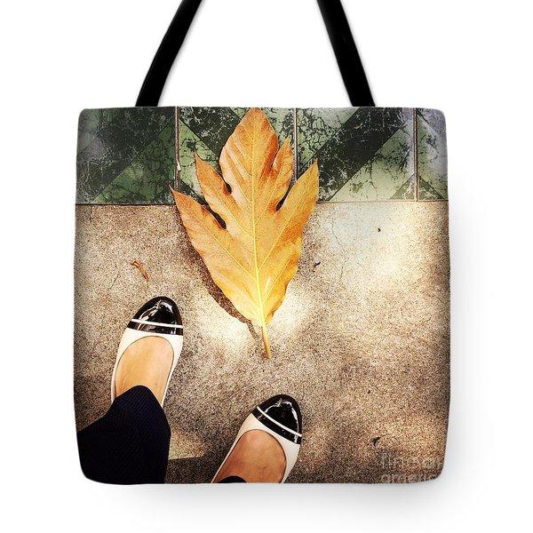 Feet Around The World #30 Tote Bag