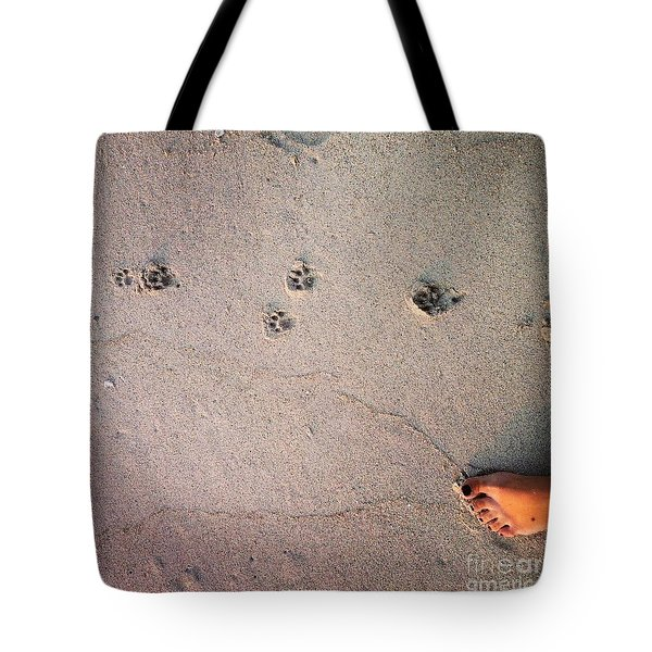 Feet Around The World #31 Tote Bag