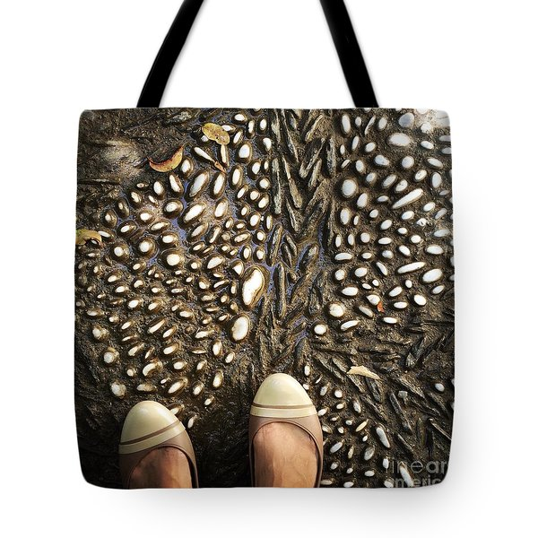 Feet Around The World #32 Tote Bag