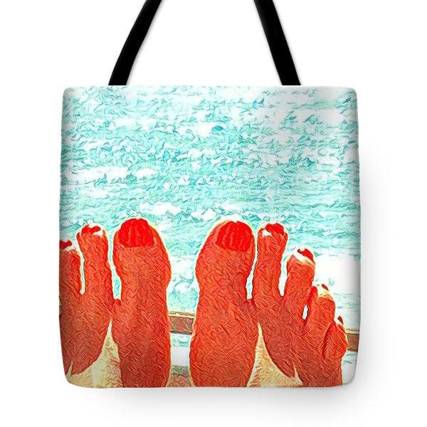 Feets Don't Fail Me Now Tote Bag