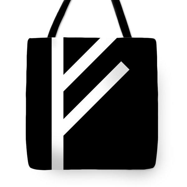 Fehu Rune Tote Bag