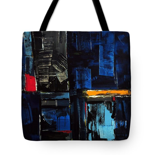Tote Bag featuring the painting Feldenkrais by Rick Baldwin