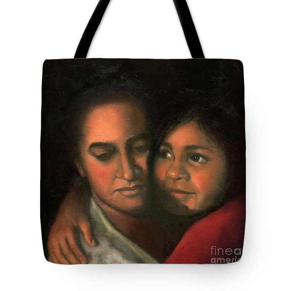 Felicia And Kira Tote Bag
