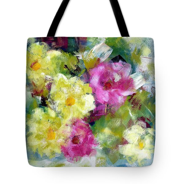 Tote Bag featuring the painting Felicidades by Katie Black