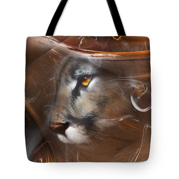 Feline Princess Tote Bag