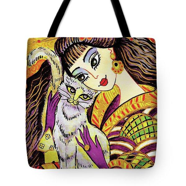Feline Rhapsody Tote Bag