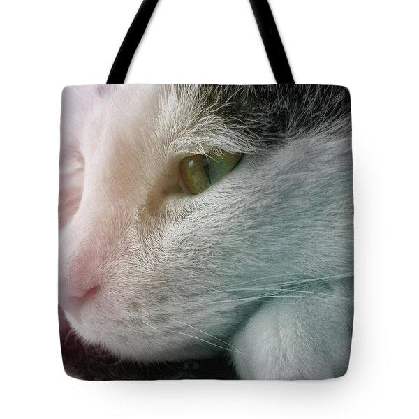 Feline Zen Tote Bag