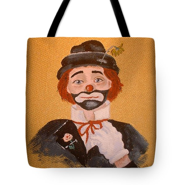Felix The Clown Tote Bag by Arlene  Wright-Correll