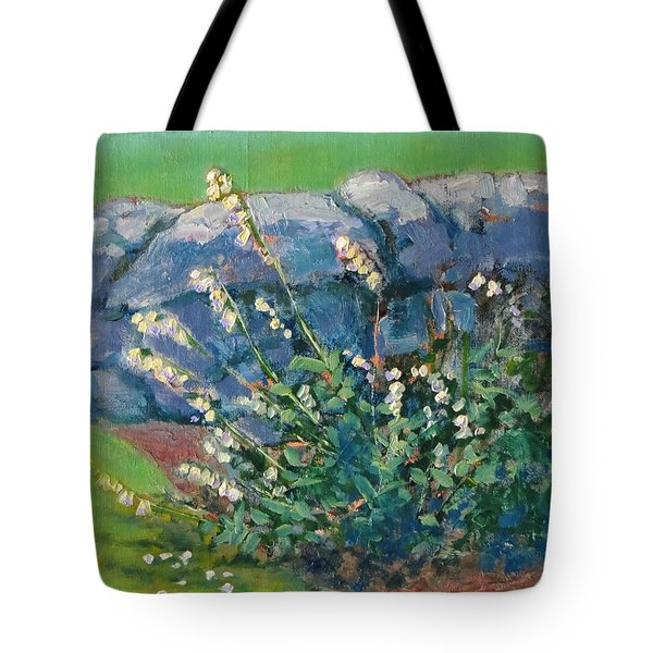 Fells Foxglove Tote Bag