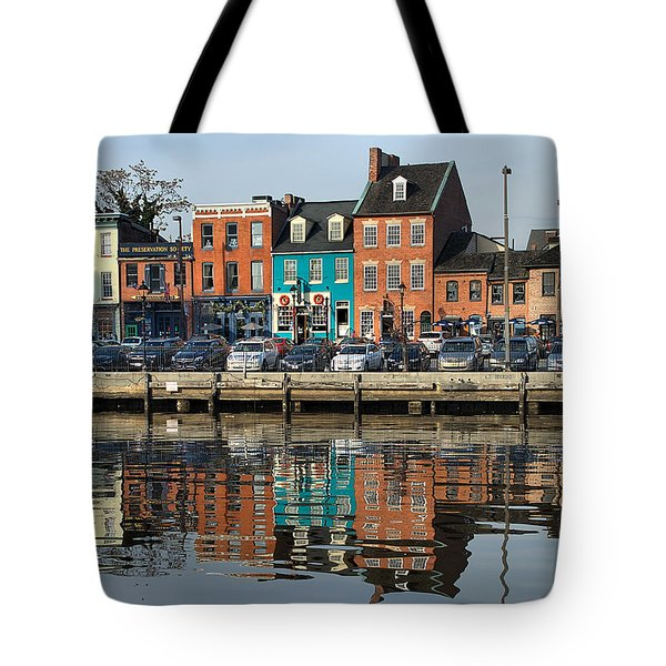 Fells Point 1 Tote Bag by Steven Richman
