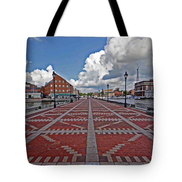 Fells Point Pier Tote Bag