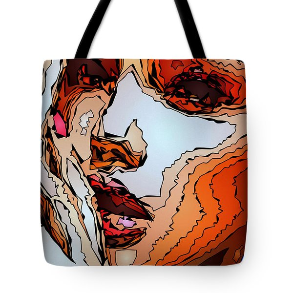 Female Expressions Viii Tote Bag
