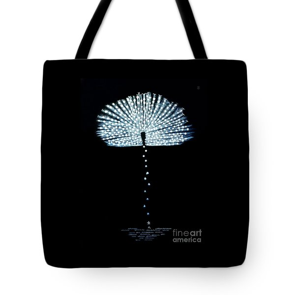 Female Feather Tote Bag by Fei A