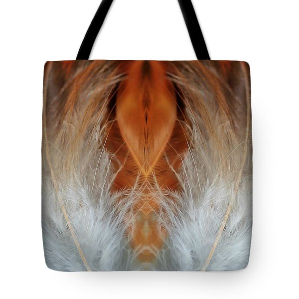 Female Feathers Tote Bag