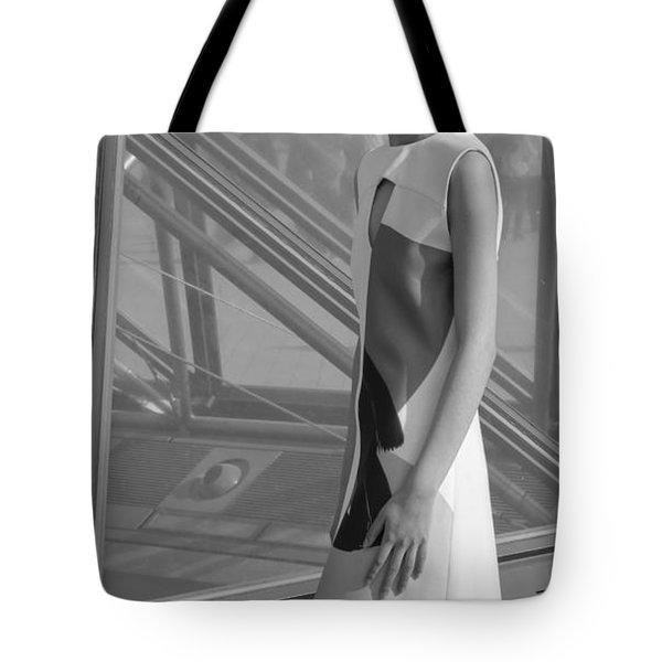 Female Model Tote Bag