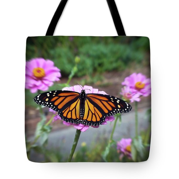 Female Monarch  Tote Bag