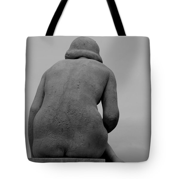 Female Nude Tote Bag by Emme Pons