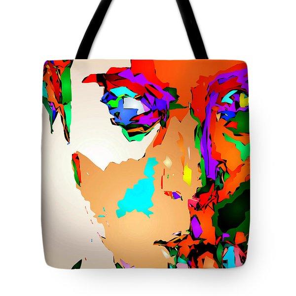 Female Tribute IIi Tote Bag by Rafael Salazar