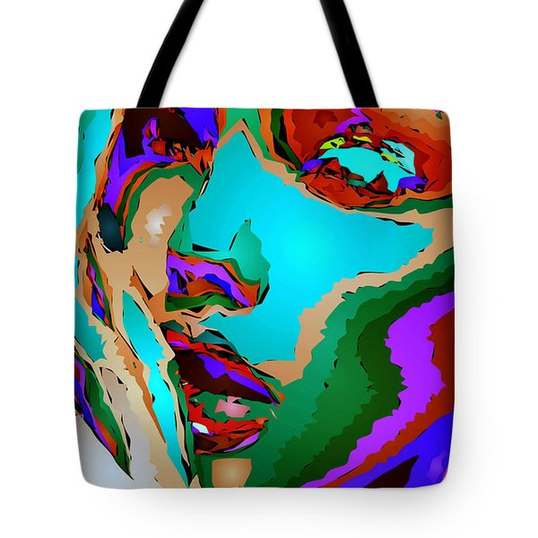 Female Tribute V Tote Bag