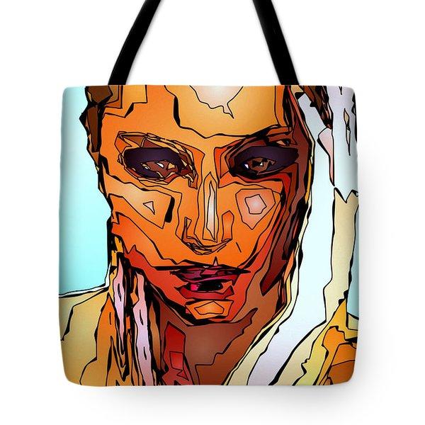 Female Tribute Vii Tote Bag by Rafael Salazar