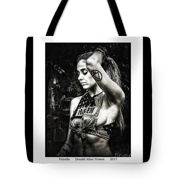 Femella Tote Bag by Donald Yenson