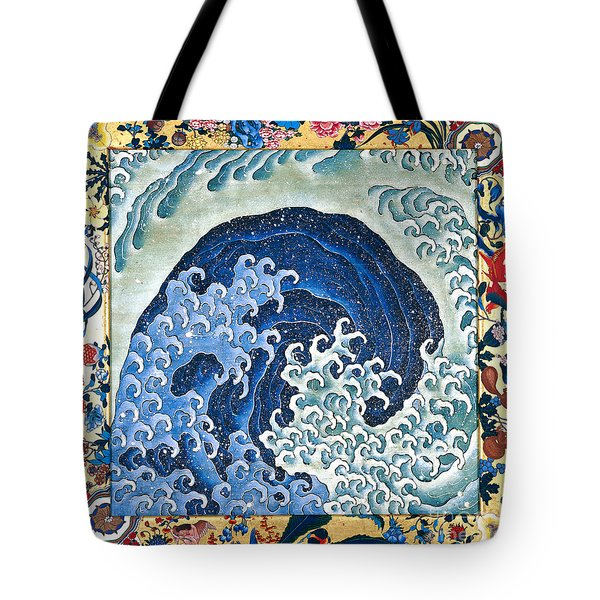 Femenine Wave Tote Bag