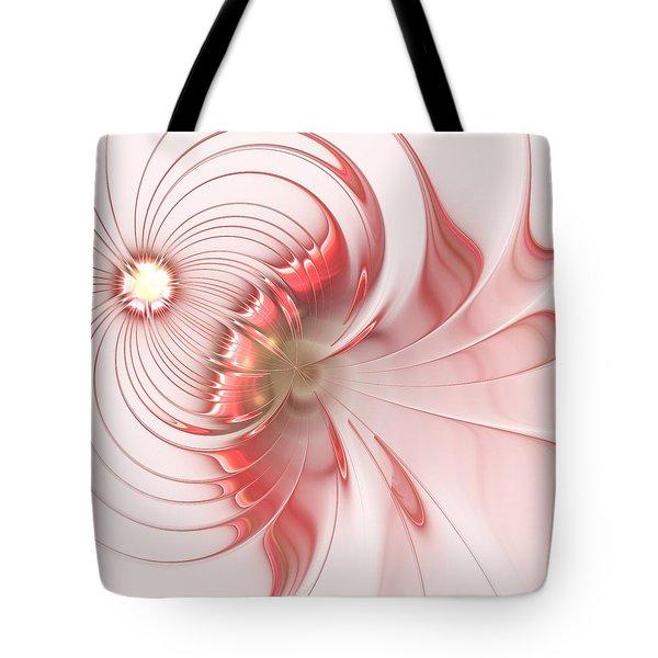 Tote Bag featuring the digital art Feminism by Anastasiya Malakhova