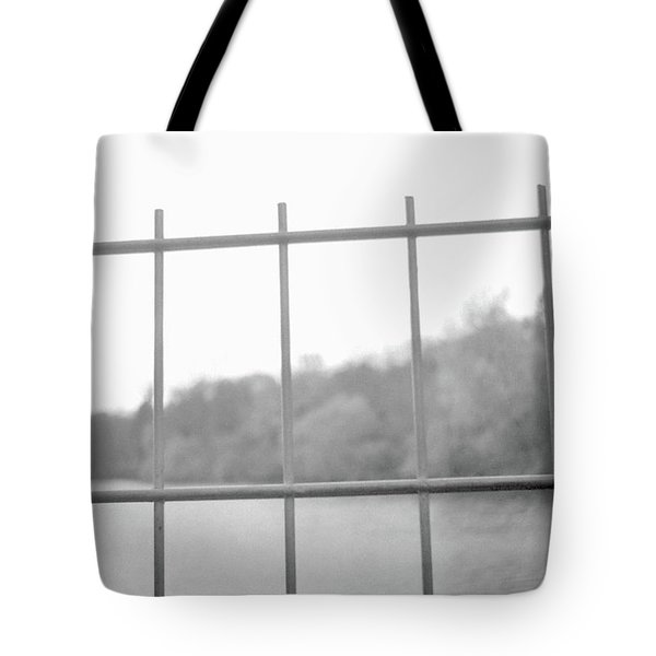 Fence Against Nature Tote Bag