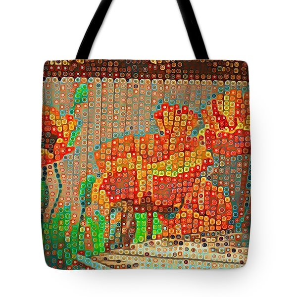 Fence Art Tote Bag