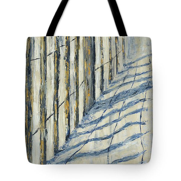 Fence At Palmetto Dunes Tote Bag