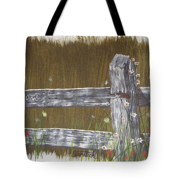Fence D And S Tote Bag