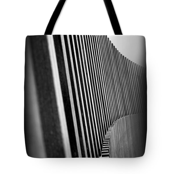 Fence Tote Bag by Lucas Boyd
