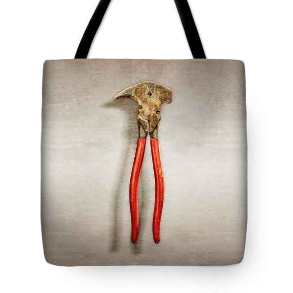 Fence Pliers Tote Bag by YoPedro