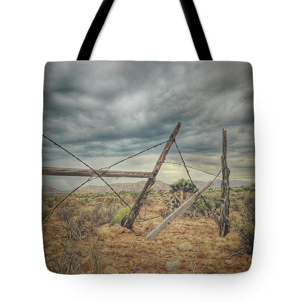 Fence Post Blues  Tote Bag