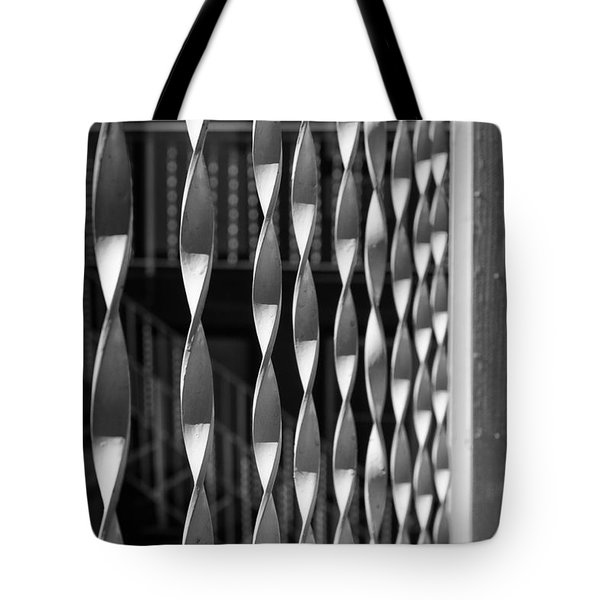 Fence Song  Tote Bag